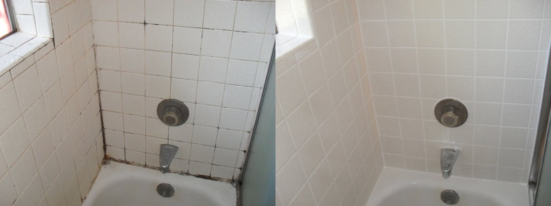 ServicesThe Grout Doctor - Bathroom caulking service