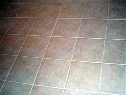 Grout Repair After