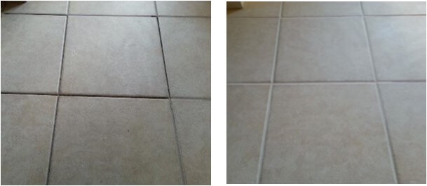 Grout Repair Before